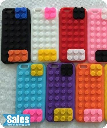 Lego Silicon iPhone 6/6 Plus Phone Casing Case Cover