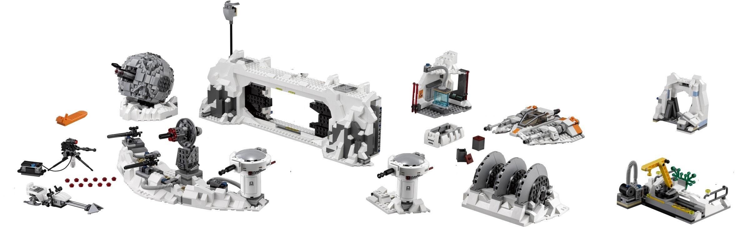 LEGO Star Wars Assault On Hoth Only NEW Split From 75098 (No Minifig)