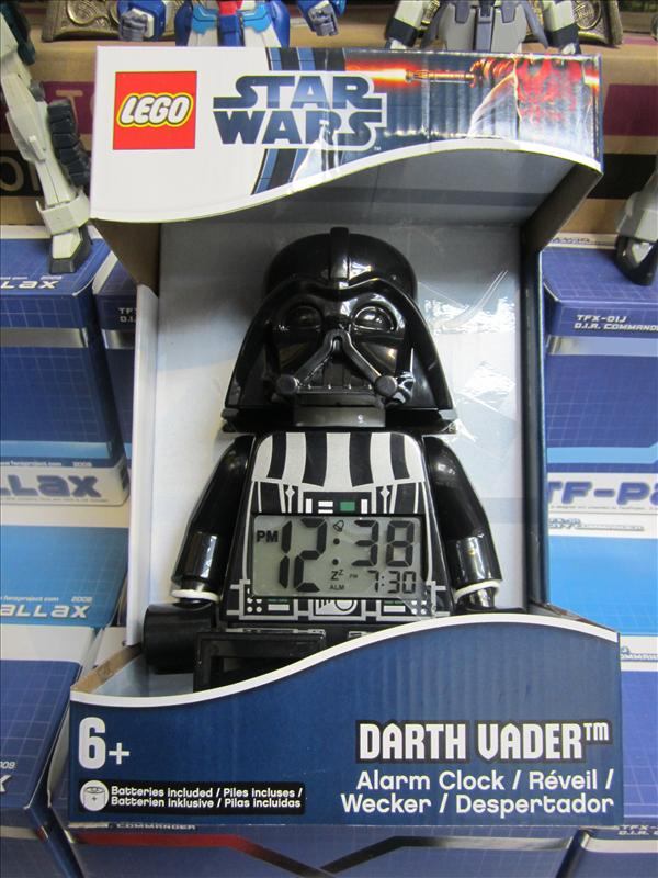 Lego Star Wars Darth Vader Alarm Cloc (end 2/3/2015 6:17 PM)
