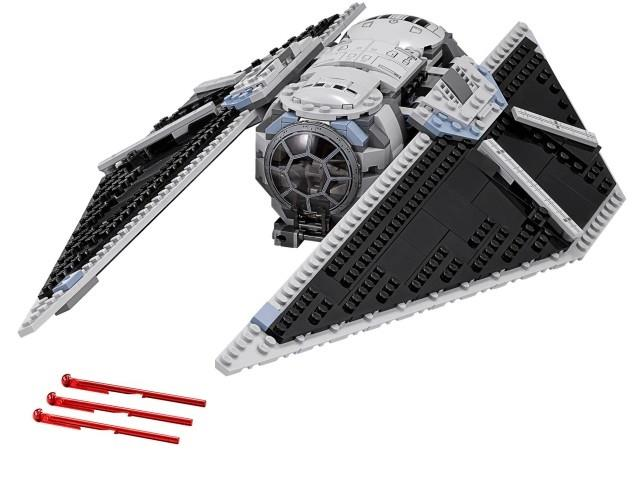 LEGO Star Wars Tie Striker Only NEW Split Fr 75154