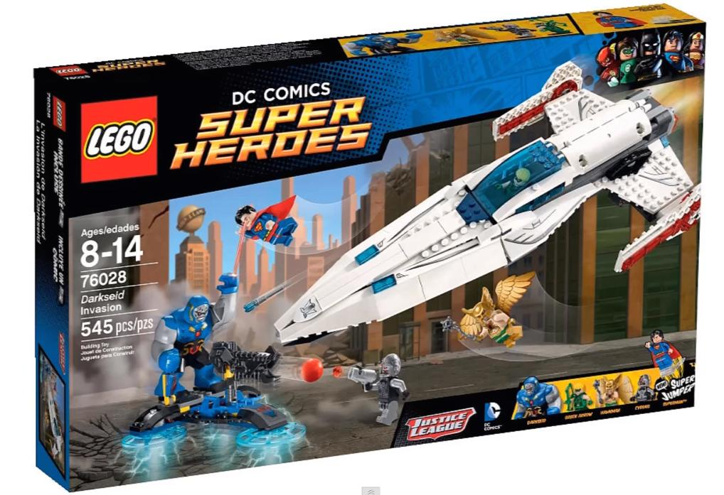 LEGO Super Heroes Darkseid Invasion 76028