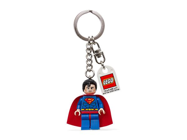 Lego Super Heroes Superman Mini figure Key Chain