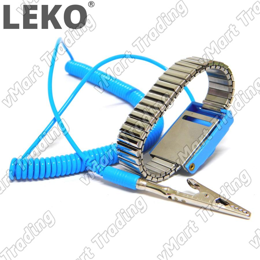 LEKO Metal Anti-Static / ESD Wrist Strap / Wristband