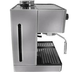espresso machine with integrated coffee grinder
