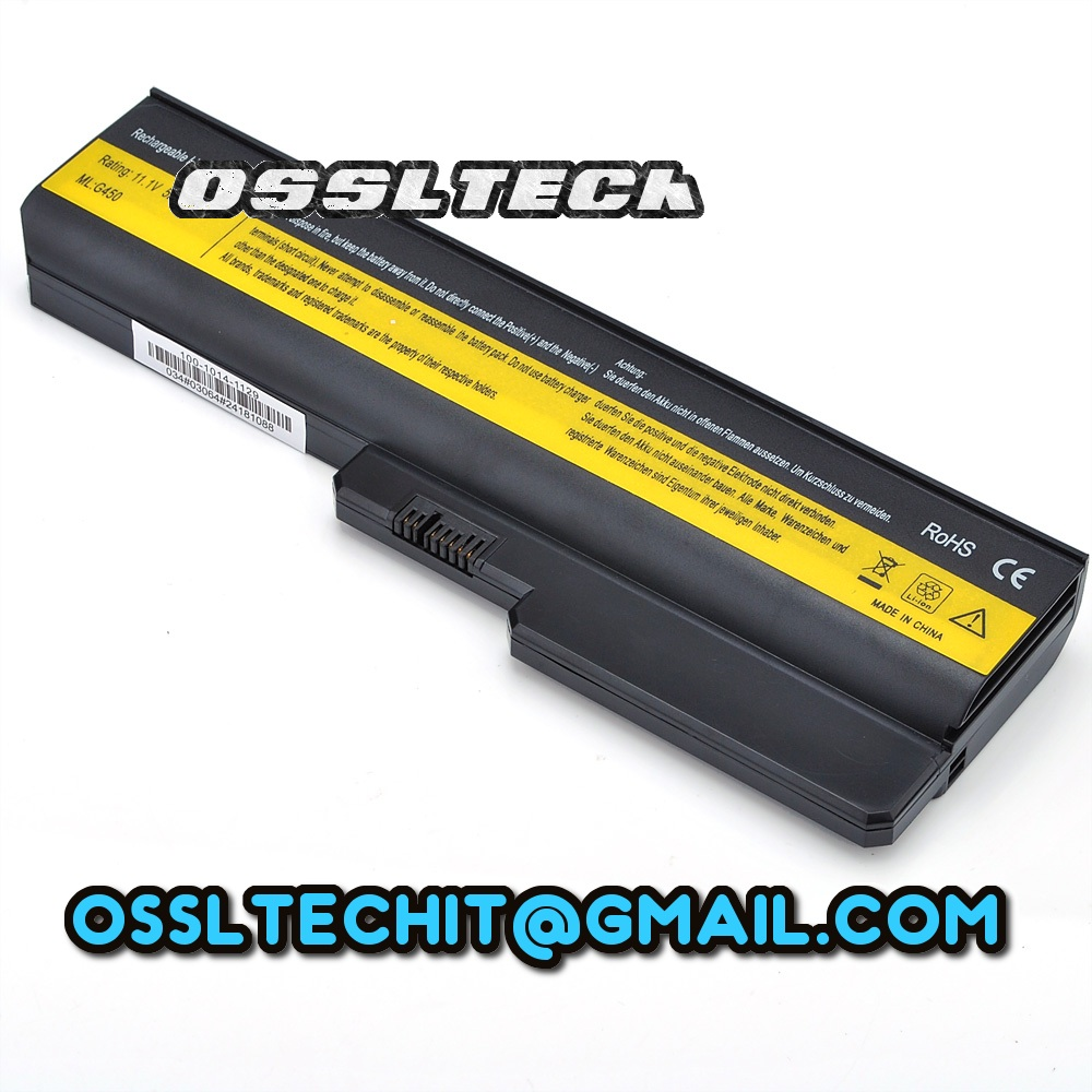 LENOVO 3000 G555 N500 G550 G450 V460 G530 G430 Laptop Battery