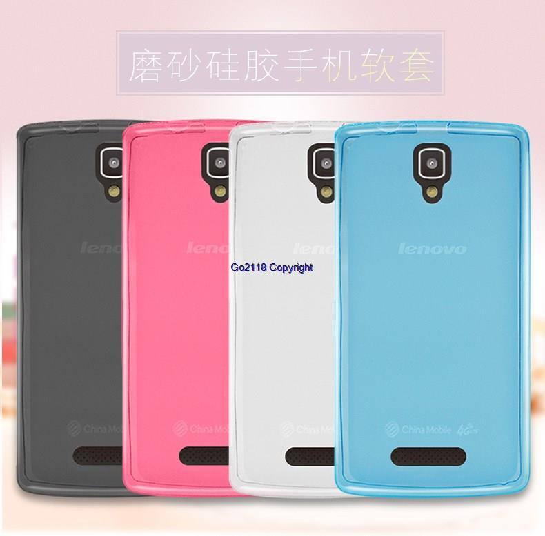 Lenovo A1000 A2800D Transparent Silicone Soft Back Case Cover Casing