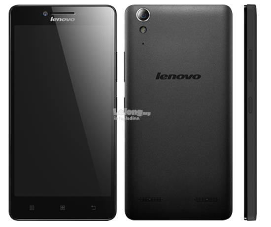 LENOVO A6000 PLUS (BLACK) 5.0' 8MP 2GB RAM 2300mAh