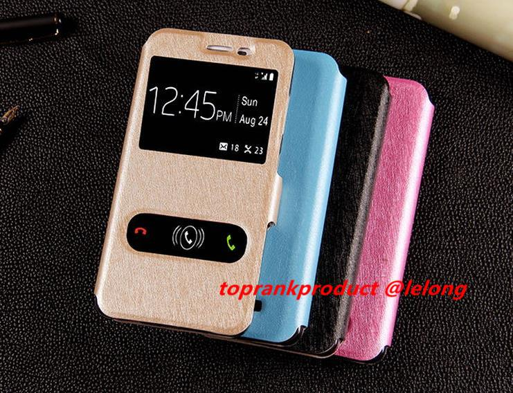 Lenovo A858 A858T Flip Case Cover Casing + Free Gift