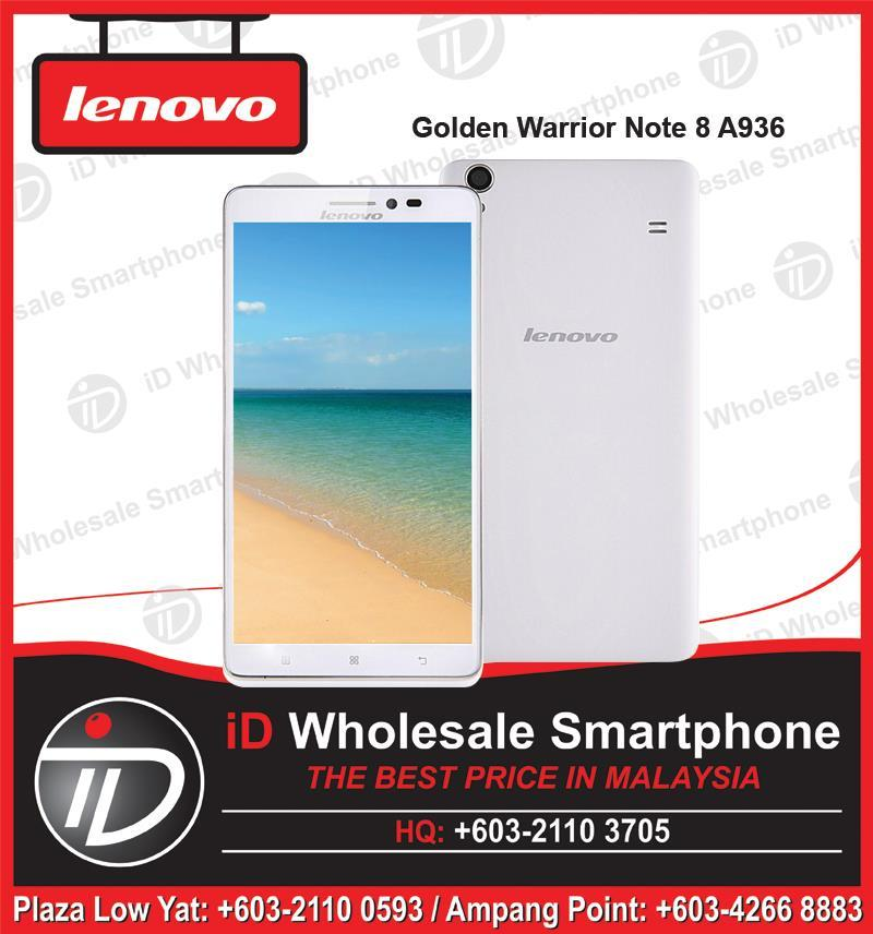 Lenovo Golden Warrior Note 8 A936, Dual SIM, Octa Core 1.7Ghz, 13MP
