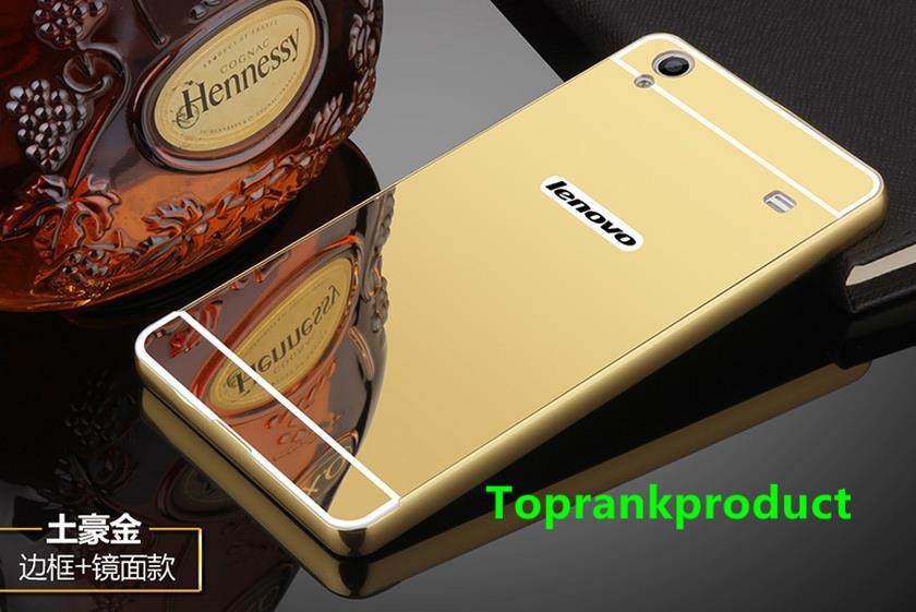 Lenovo Golden Warrior Note 8 A936 Mirror Metal Back Case Cover Casing