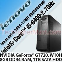 LENOVO IDEACENTRE 300S-11ISH 90D9005XMI DESKTOP PC
