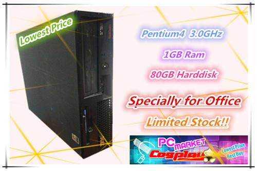 Lenovo Intel Pentium 4 3.0GHz 1GB Ram 80GB Limited Stock