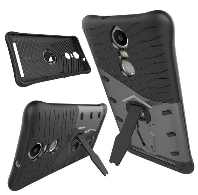 LENOVO K5 NOTE 360 Rotating TOUGH ARMOR with Stand Case