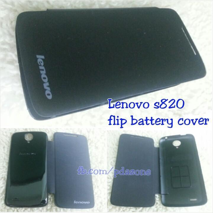 lenovo S820 flip battery cover case