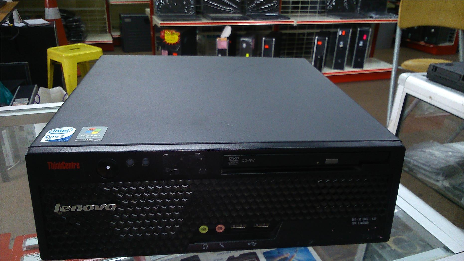 LENOVO Thinkcenter M57 C2D E7500 2.93Ghz 2GB / 160GB - Win VISTA