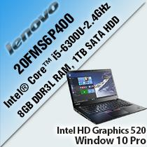 "LENOVO THINKPAD T460 20FMS6P400 14"" LAPTOP/ NOTEBOOK"