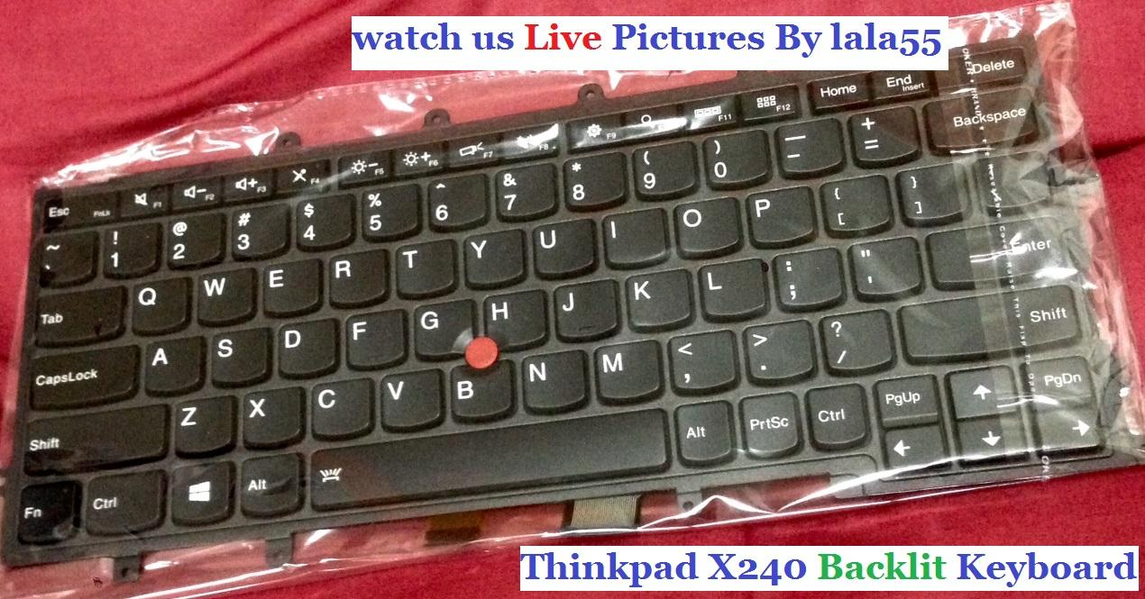 Lenovo Thinkpad X240 X240S X250 Serise Keyboard (Backlit New)