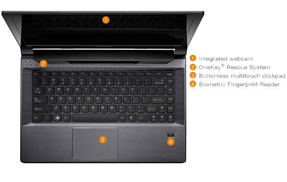 [NEW] Lenovo V480 ( i7 - 3612QM ) Gamer Notebook / Laptop