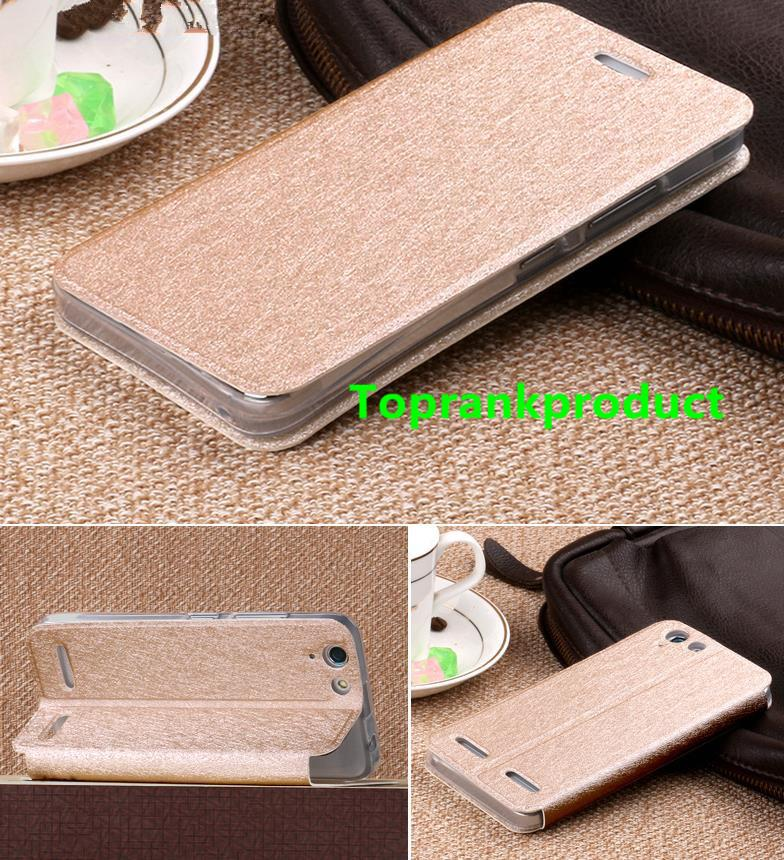 Lenovo Vibe K5 A6020 Plus Flip Stand Case Cover Casing + Free Gift