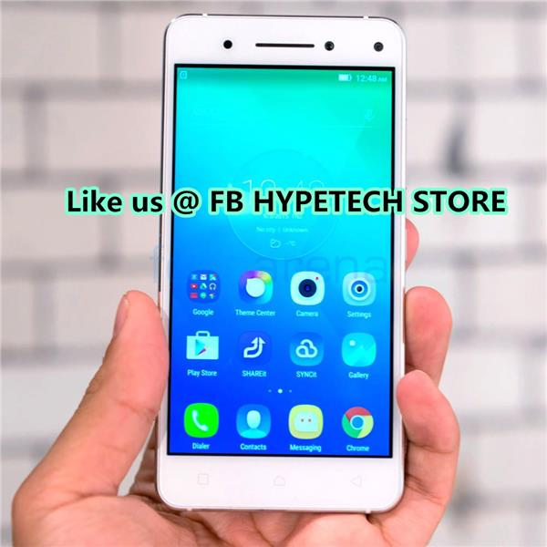 Lenovo Vibe S1 | 5 inch Sleek, Stylish, Social Smartphone - White