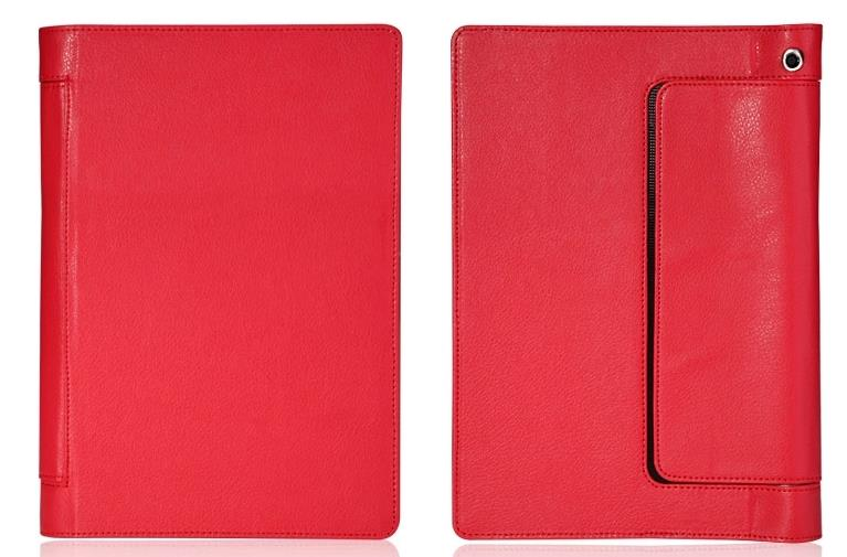 Lenovo yoga tablet 10 b8000 tablet leather case cover + free sp