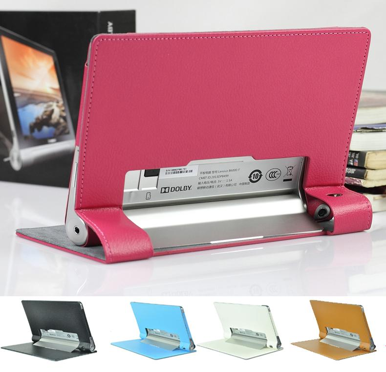 Lenovo yoga tablet 8 b6000 tablet cover leather pouch case table top
