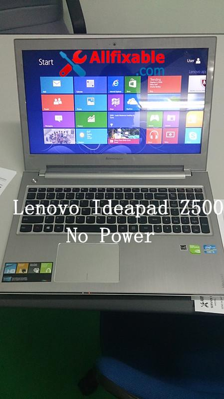 Lenovo Z500 notebook laptop No power chipset / circuit repair