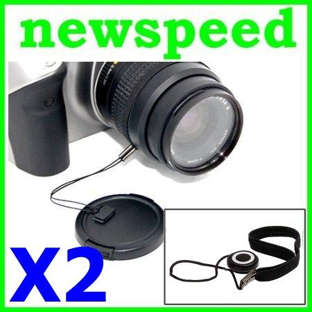 New Lens Cap Keeper String Holder Strap (2pc)
