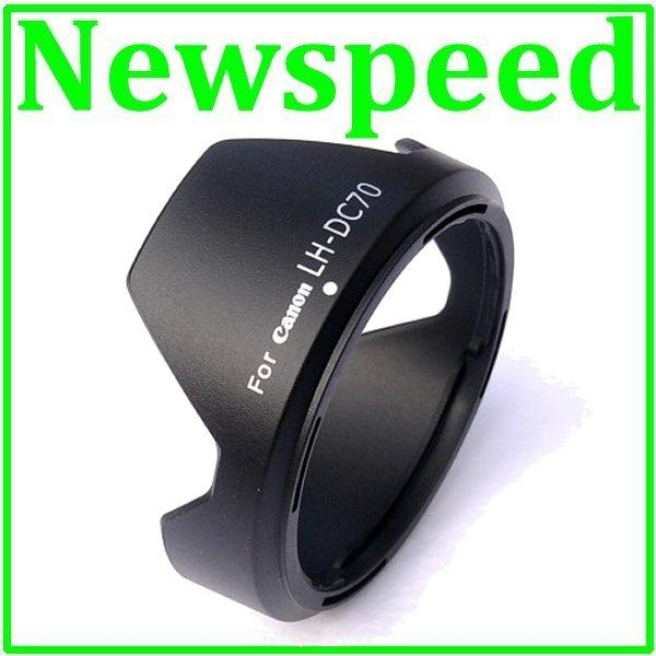 New Lens Hood for Canon G1X LH-DC70
