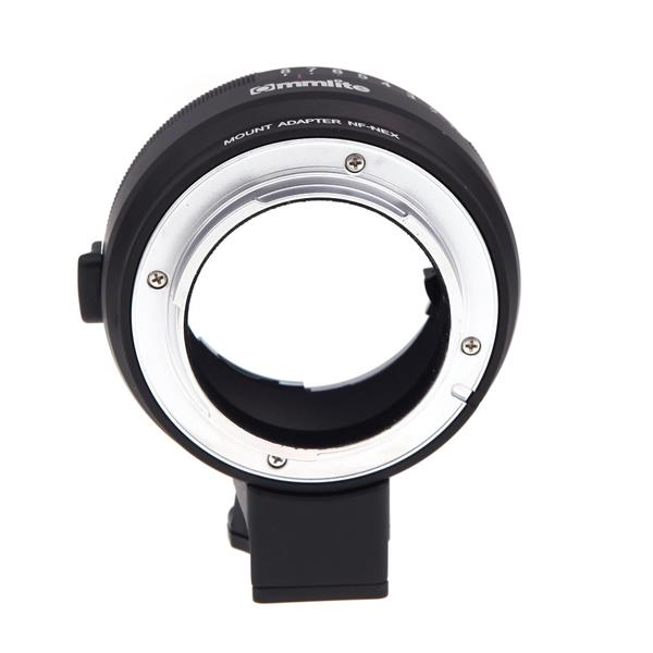 Lens Mount Adapter with Aperture Dial for Nikon G/DX/F/AI/S/D Type
