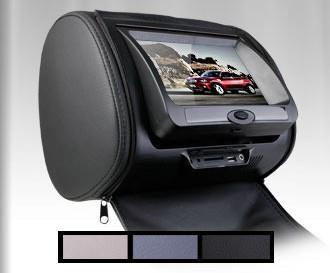 LEON 7 inch HD Headrest DVD USB LCD Monitor with Zip Sony Lens