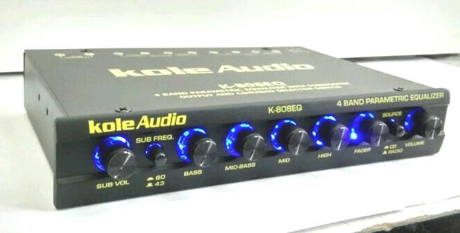 LEON Kole 4 Band Graphic Equalizer Pre Amp