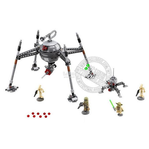 Lepin 05025 Star Wars Homing Spider Droid Building Blocks