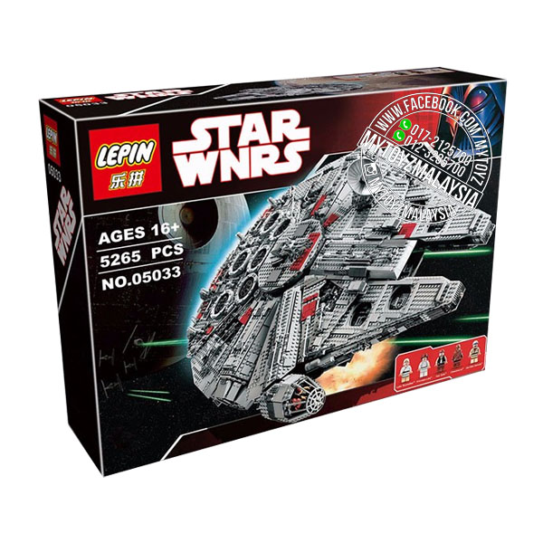 Lepin 05033 Star Wars UCS Millennium Falcon Building Blocks