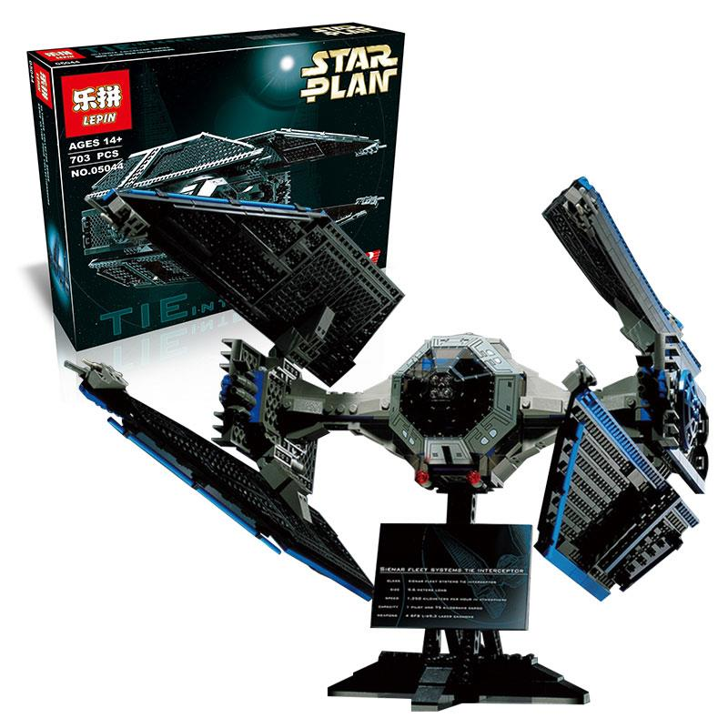 LEPIN 05044 Star Wars Tie Interceptor Limited Edition