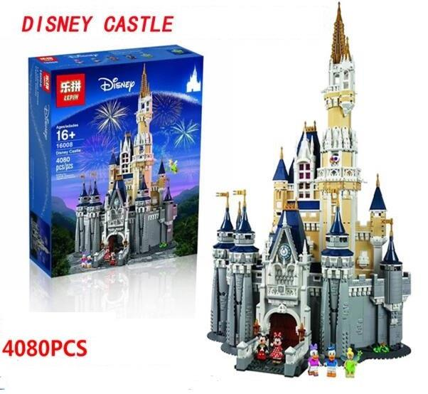 Lepin 16008 Lego Compatible Disney Castle
