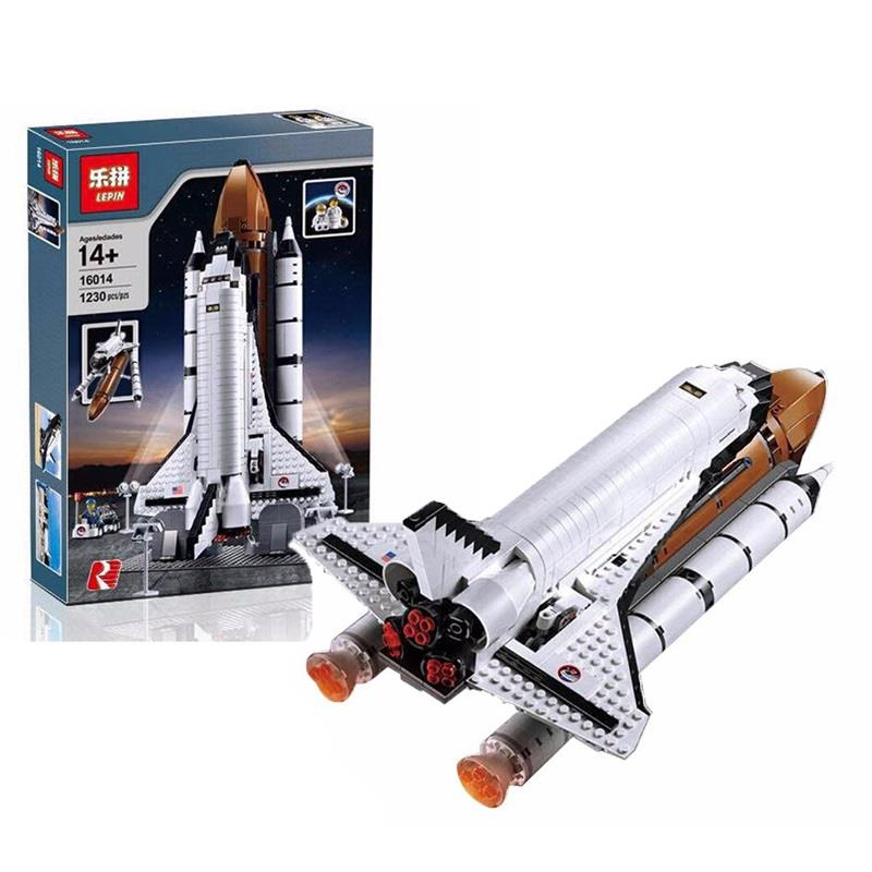 LEPIN 16014 Space Shuttle Expedition