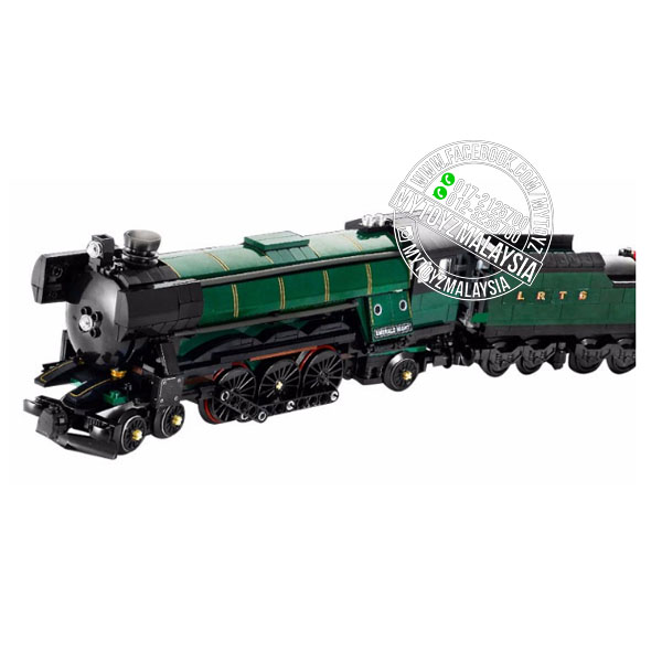 Lepin 21005 Creator Emerald Night Train Building Blocks