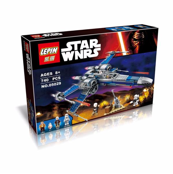 LEPIN Star Wars Resistance X-Wing Fighter 05029