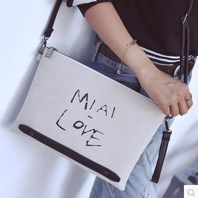 Letter envelope bag shoulder bag female Messenger bag