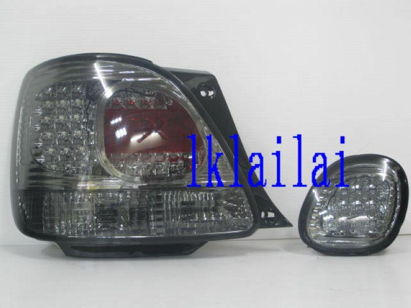 Lexus GS300 LED Tail Lamp with Bonnet Lamp [Smoke]