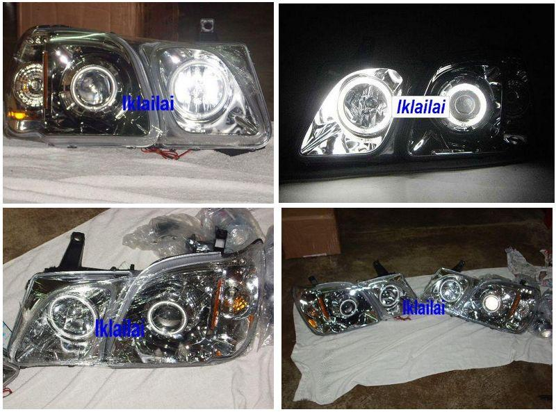 LEXUS LX470 '98-07 Double CCFL Ring Projector Head Lamp
