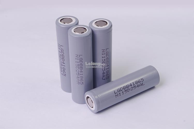 LG 18650 BATTERY SERIES BUY 5 FREE 1