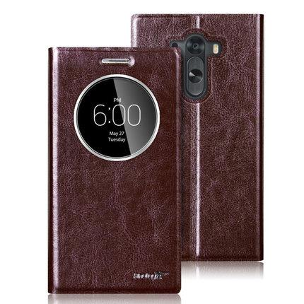 LG G3 Flip leather case