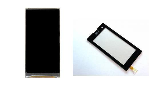 LG KF700 Display Lcd / Digitizer Touch Screen Repair Service Sparepart