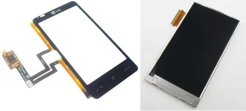 LG KM900 Km900E Lcd Display / Digitizer Touch Screen Repair Service