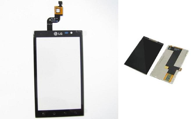 LG Optimus 3D P920 Display Lcd / Digitizer Touch Screen Sparepart