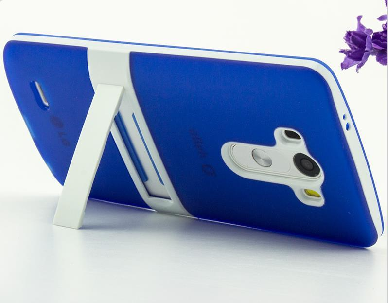 LG Optimus G2 G3 D858 Stand Silicone Case Cover Casing + Free Gift