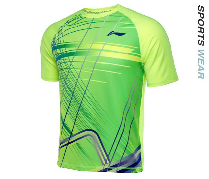 Li-Ning Mens RN TEE - Lime Green -ATSL401-3