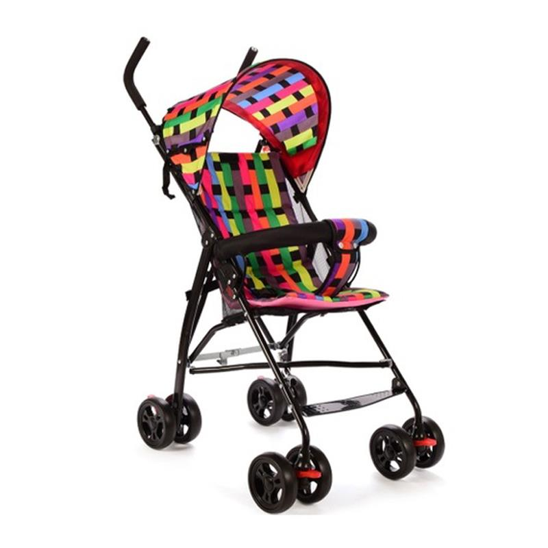 Light and Basic Version Multicolor Baby Kids Children Stroller Car